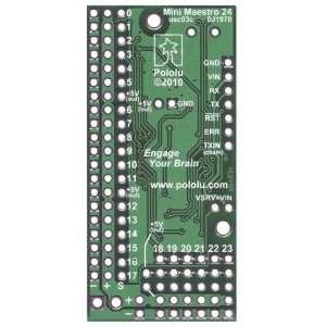 Mini Maestro 24-Channel USB Servo Controller (Assembled)
