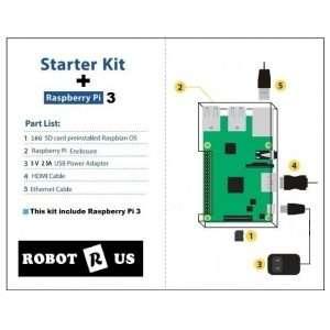 GPIO Kit for Raspberry Pi Model B+ 2 / 3   Robot R Us