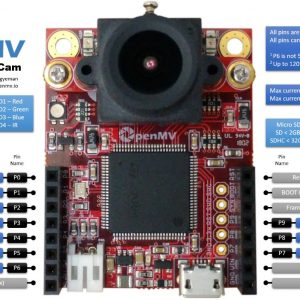 OpenMV Cam H7 - Machine Vision with Python and Arduino